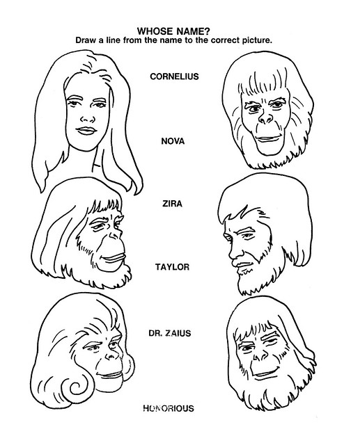 Planet of the Apes Activity Book 0100027