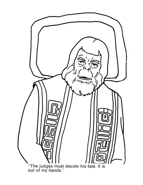 Planet of the Apes Coloring Book 0100054