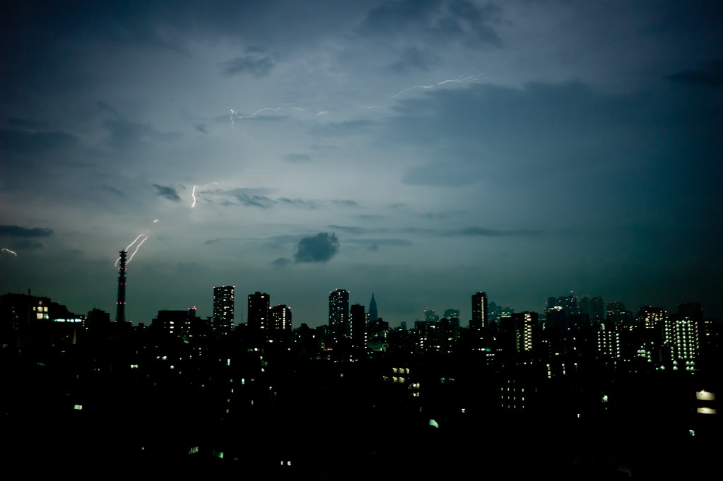 Tokyo, electric city