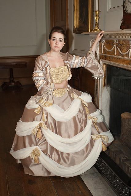 Marie antoinette wedding dress flickr photo sharing for Marie antoinette wedding dress