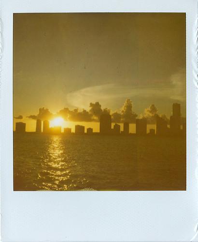 Miami sunset.