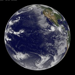 GOES-11 Satellite Sees Large Hurricane Eugene