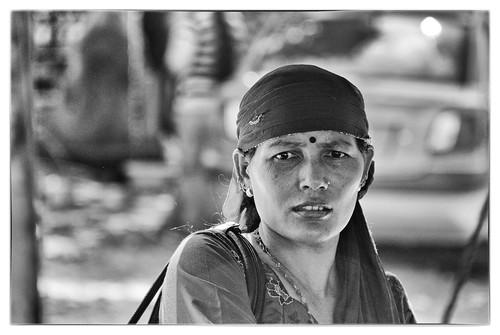 road nepal portrait bazard