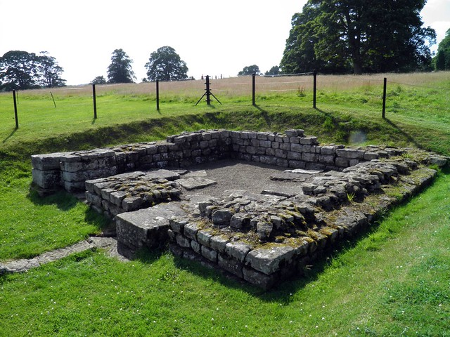 The North Gate, Chesters Roman Fort