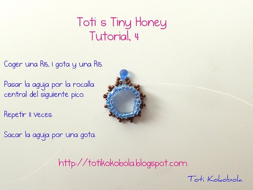 Pendientes Tiny Honey. Foto 4