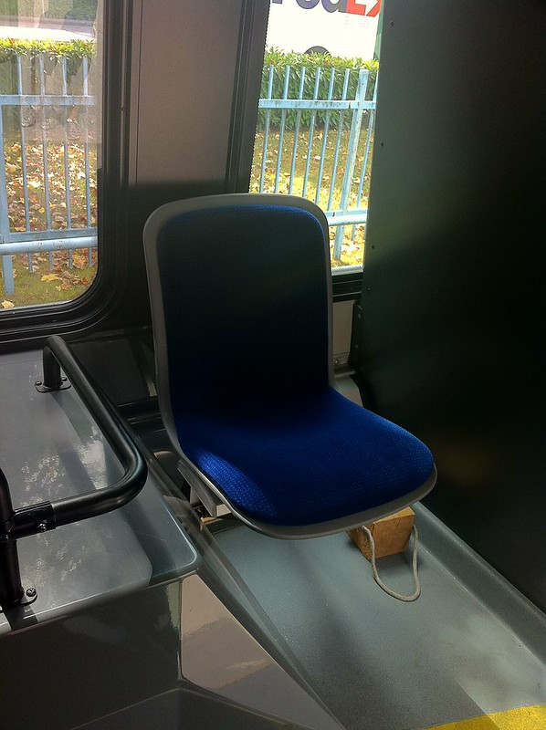 Throne Seat on the Nova Bus LFX