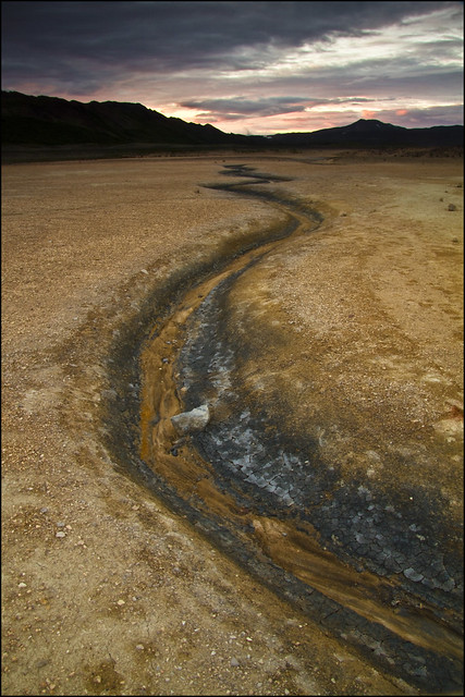 Endless sulphur creek, Hverarönd, Namaskard, Iceland