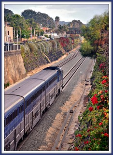 Solana Beach station Ca