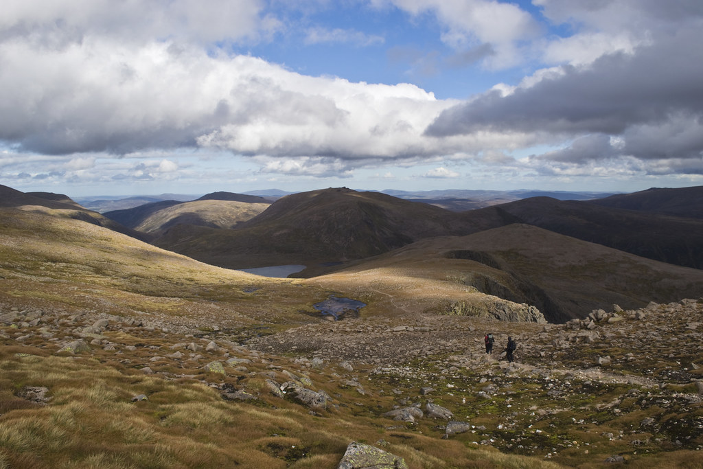Towards the Barns of Beinn Mheadhoin 3 Trips Thursday