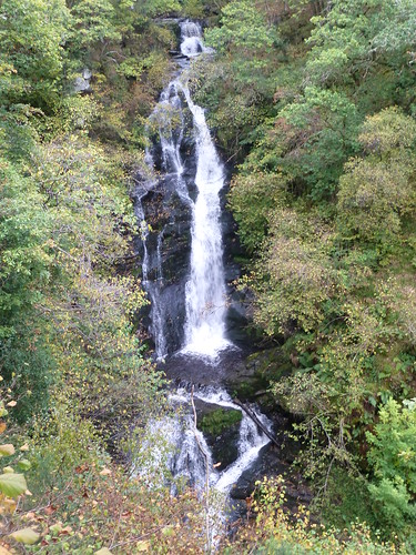 Black Spout Waterfall, Pitlochry