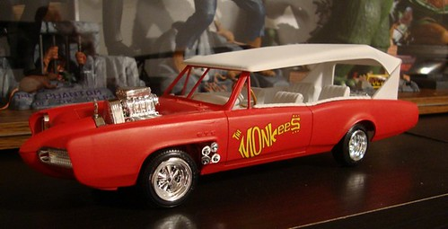The Monkees Monkeemobile Model Kit #1