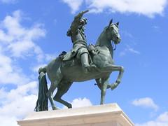 Statue of Louis XIV