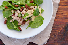 white bean & avocado salad