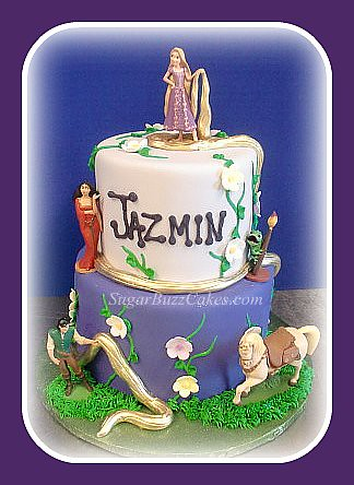 Tangled Birthday Cakes on Rapunzel Tangled Birthday Cake   Flickr   Photo Sharing