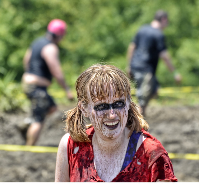 Rugged Maniac Competition - Muddy