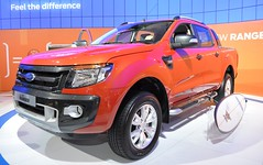 automobile, automotive exterior, pickup truck, wheel, vehicle, truck, auto show, ford ranger, bumper, ford, land vehicle,