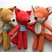 familia zorro/fox family by pica - pau