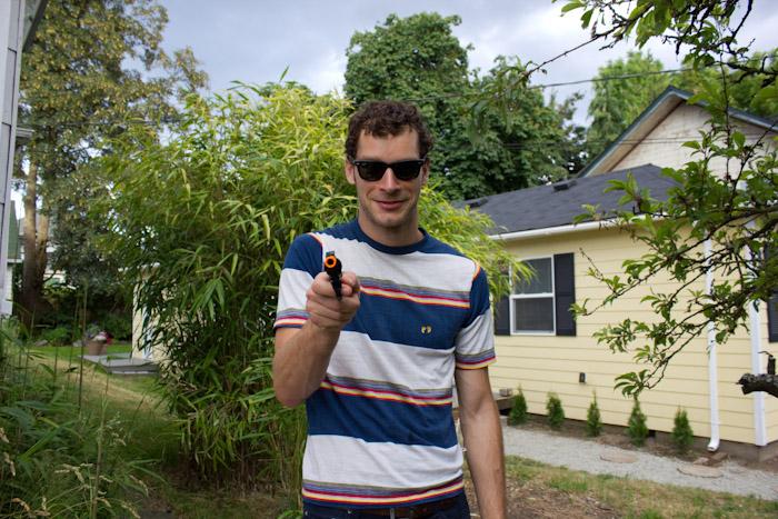 Birthday Sullivan. New Gun.