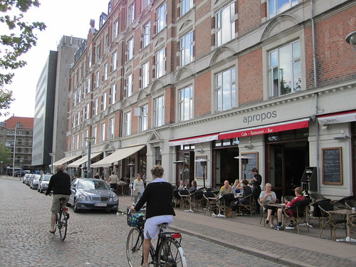 Biking thru Vesterbro