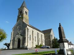 L'église de la Nocle Maulaix