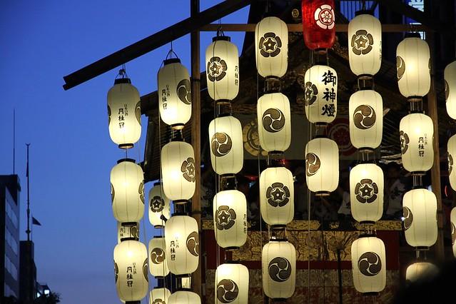 祇園祭的宵市