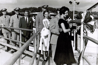 Cheatham Lock and Dam Dedication 1954