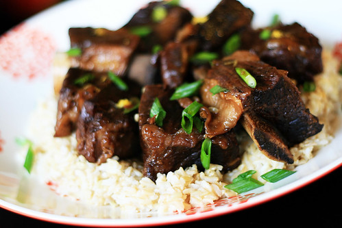 Asian Style Braised Short Ribs