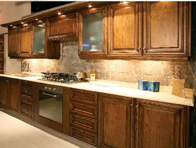 Kitchen design pictures valcucine cabinets latest marble for Kitchen design pakistan