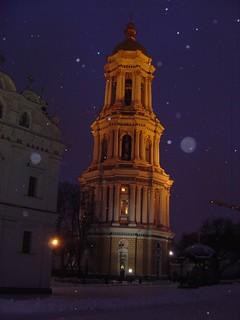 Kiev in the Snow.
