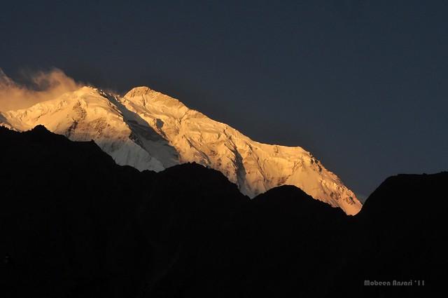 Peak at sunrise