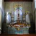 Caputh Dorfkirche; Klassizistischer Orgelprospekt (1852)von Stüler by Wolfsraum