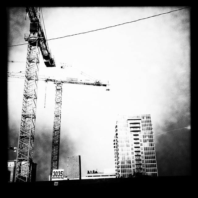 Peachtree St. Construction