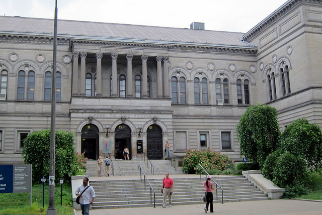 Pittsburgh - Oakland: Carnegie Library of Pittsburgh Main Branch