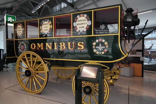 1829 Shillibeer horse drawn omnibus replica