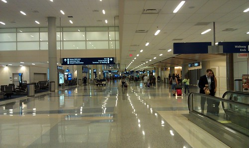A loss of power in an airport would cause numerous system failures and widespread panic