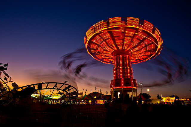 Photographing Carnival Rides At Night Flickriver: Most inter...