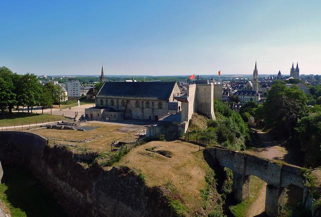 Château de Caen (Calvados-FR)
