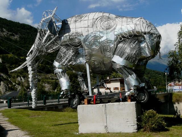 Eléphant à Bramans 062