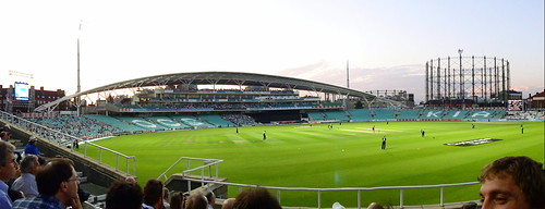 The Kia Oval - Aug 2011 - Panorama of the New Stand