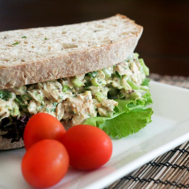 Simple Tuna Fish Sandwich