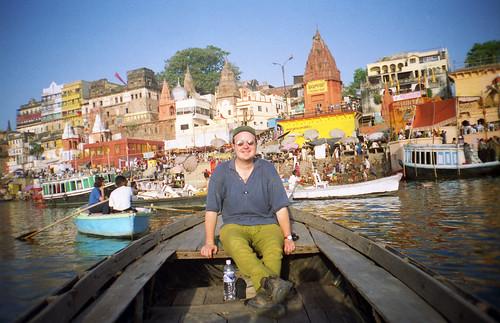 me @ Prayag Ghat, Varanasi
