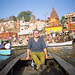me @ Prayag Ghat, Varanasi by ruffin_ready
