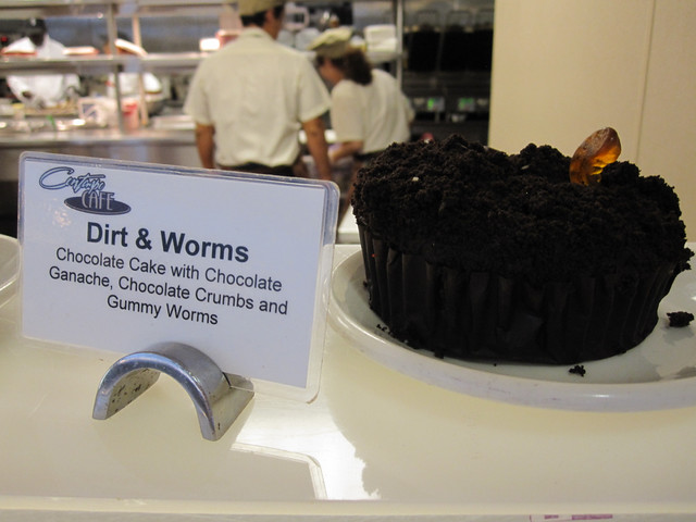 Dirt & Worms Dessert