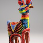 The Huichol Art with PRECIOSA seed beads (Deer)