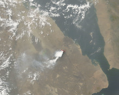 Nabro Volcano Plume on June 23, 2011