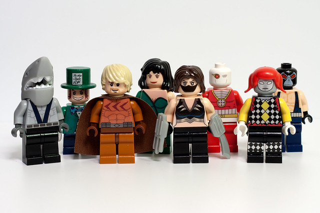lego marvel superheroes how to make custom characters bald
