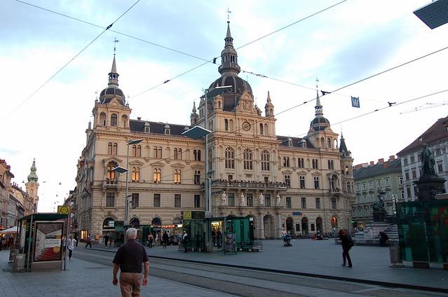 Hauptplatz Graz 格拉茨 郝普特廣場