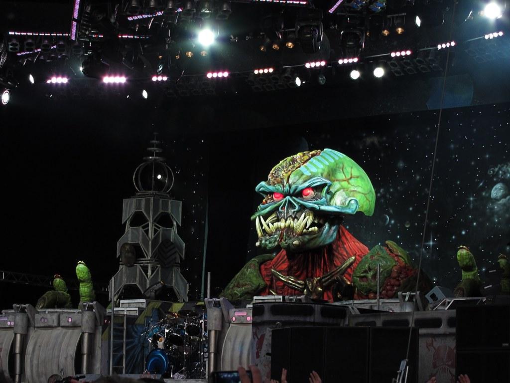 Iron Maiden @ Olympiastadion, 2011-07-08
