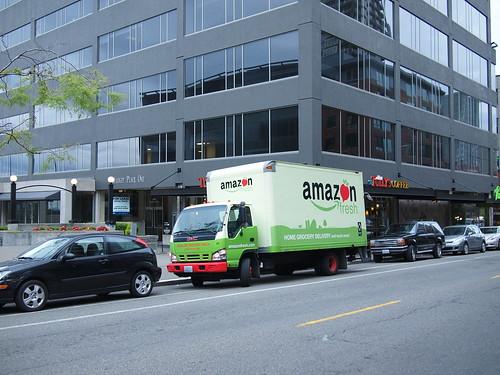 Amazon fresh : livraison à domicile