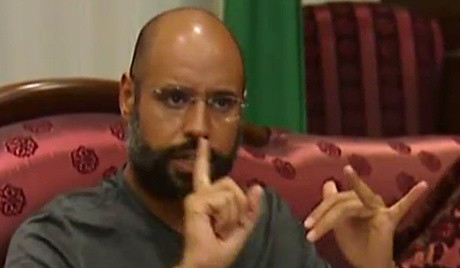 Libyan official Saif al-Islam, the son of leader Muammar Gaddafi, gave an interview to a leading Algerian publication. Now Seif is being held by counter-revolutionary rebels who will try him through a show trial. by Pan-African News Wire File Photos